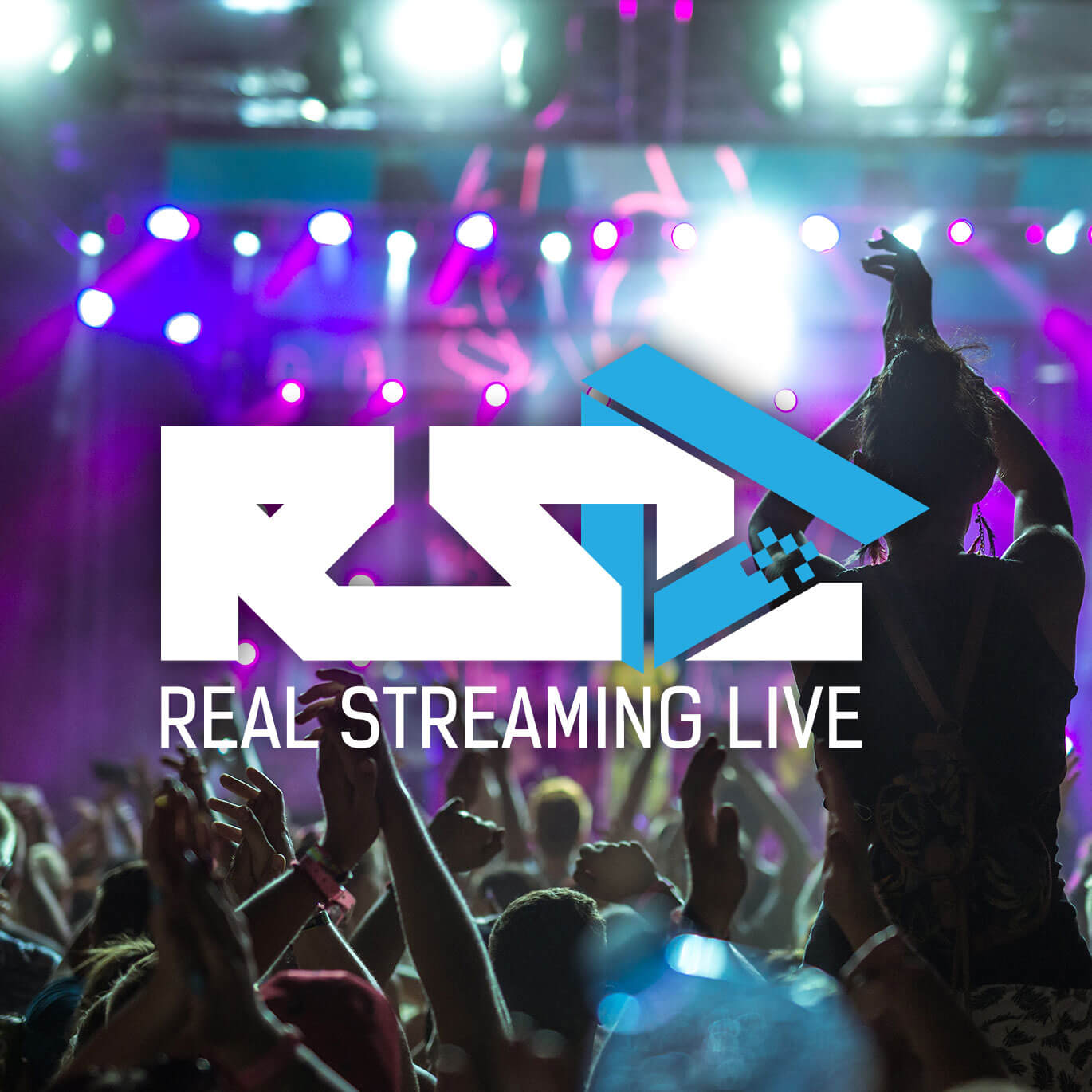 real streaming live logo